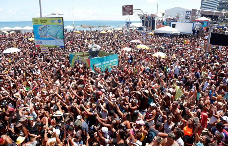 Secretário de Turismo na capital baiana, Tinoco disse que carnaval de SP poderia ser maior por questões óbvias - Foto: Uendel Galter | Ag. A TARDE