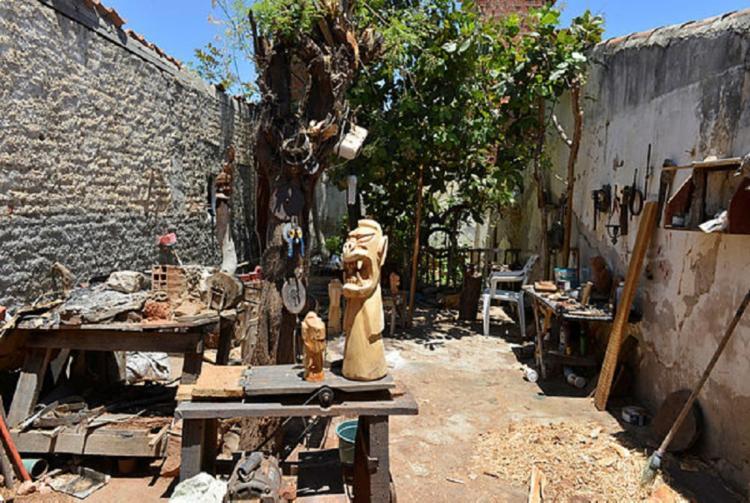 Oficina de manufatura de carrancas em Juazeiro