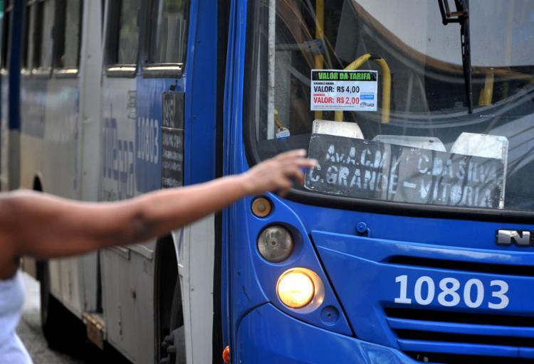 A Semob também irá prolongar o atendimento de sete linhas que operam na região até a 0h - Foto: Felipe Iruatã | Ag. A TARDE