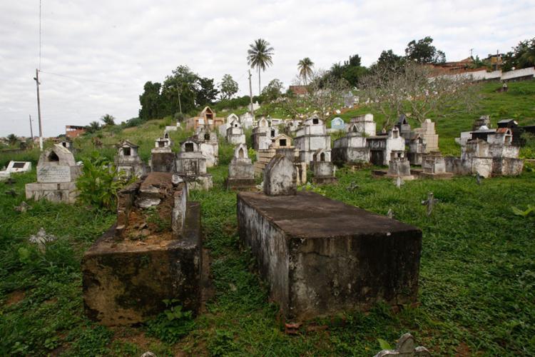 O Cemitério Público Municipal de Periperi será um dos contemplados com a ação - Foto: Luciano Carcará | Ag. A TARDE