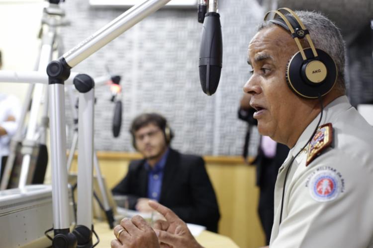 Coronel foi questionado se vai ser candidato nas eleições 2020 - Foto: Raul Spinassé | Ag. A TARDE
