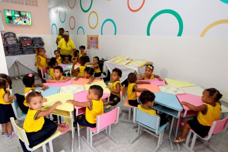 Creche apoiada pelo programa Mais Infância, projeto desenvolvido pelas Voluntárias Sociais da Bahia - Foto: Fernando Vivas | Govba