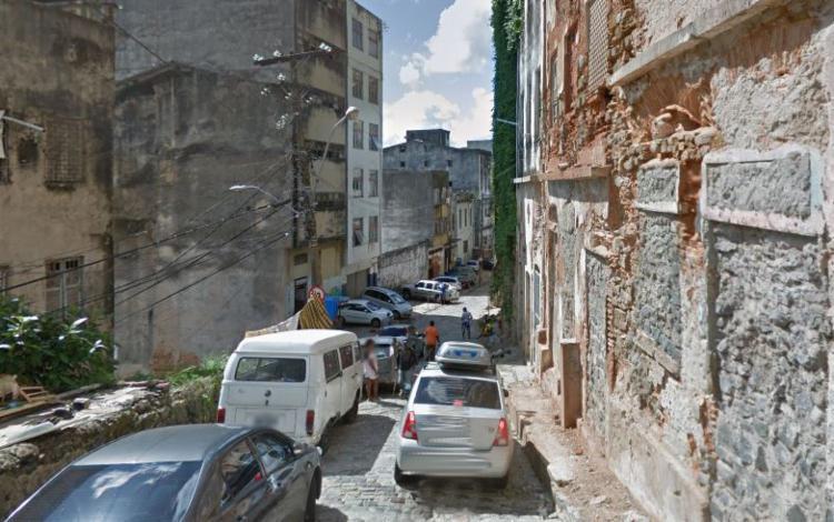 O caso aconteceu na rua Caminho Novo do Taboão - Foto: Reprodução | Google Street View