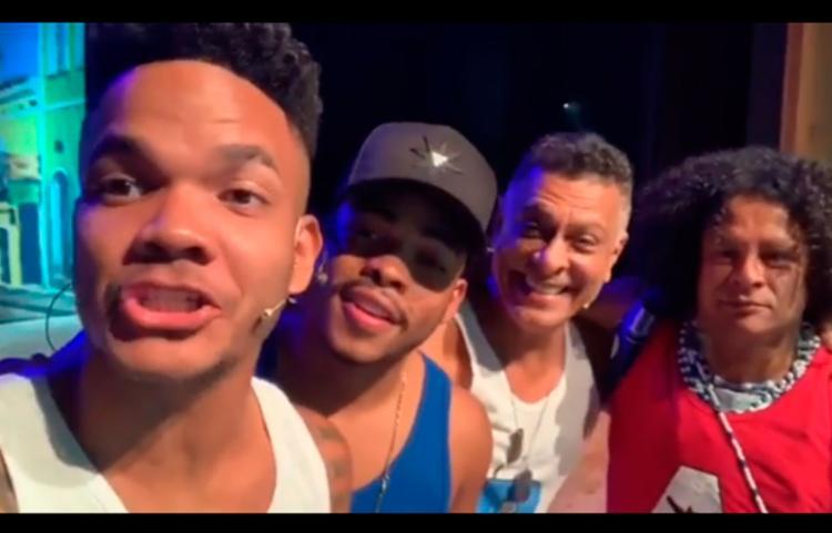 Renato Piaba, Pisit Mota, Léozito e Cristian Bell se unem no espetáculo 'Coisas da Bahia' - Foto: Reprodução | Instagram