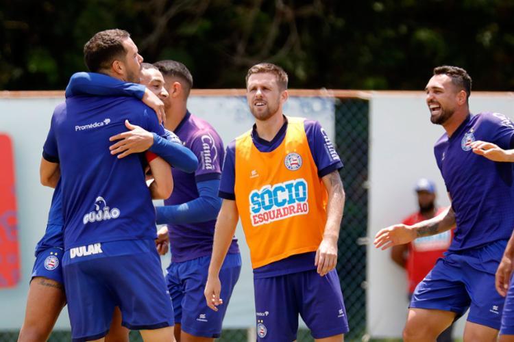 Tricolor precisa do triunfo para não se distanciar do pelotão de frente - Foto: Felipe Oliveira   EC Bahia