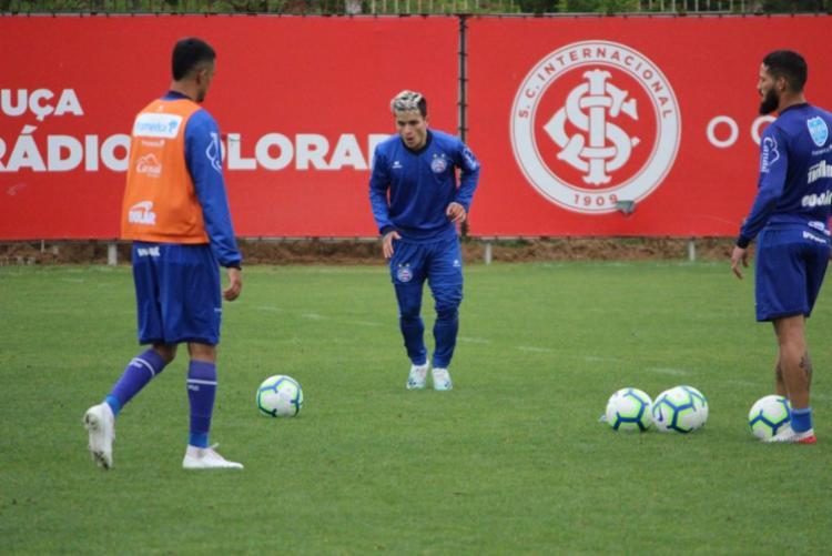 Artur se recuperou de uma virose e está à disposição de Roger Machado - Foto: Divulgação | EC Bahia