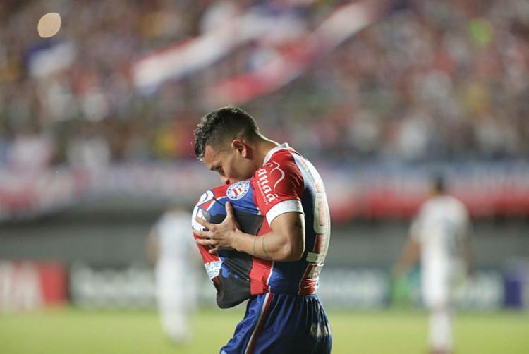 Tricolor busca reencontrar o bom futebol na Série A - Foto: Adilton Venegeroles | Ag. A TARDE