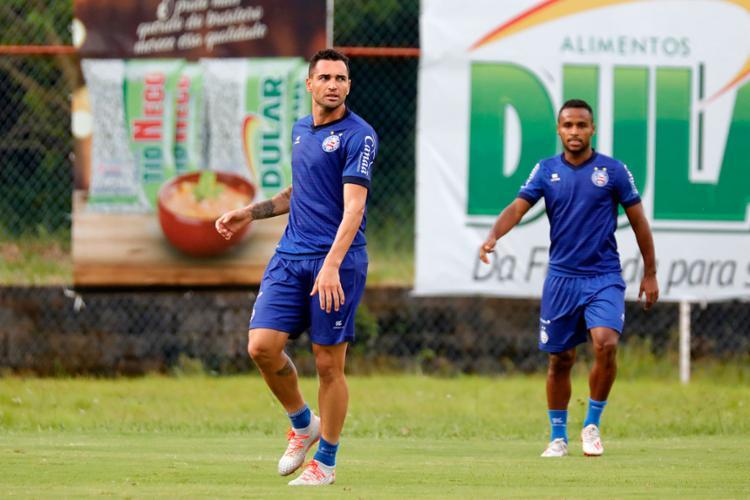 Os atacantes são dois dos destaques do Bahia na temporada - Foto: Felipe Oliveira   EC Bahia