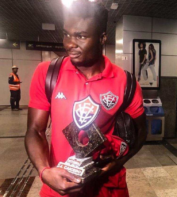Com 6 gols, o atacante equatoriano é o artilheiro do Leão na Série B - Foto: Divulgação   EC Vitória