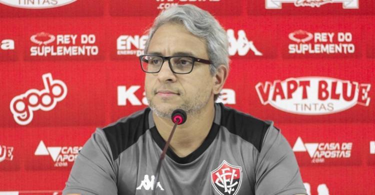 Marcelo Cortês afirmou que o capitão do Leão, Baraka, preocupa para o jogo desta quinta-feira, 3 - Foto: Letícia Martins | EC Vitória
