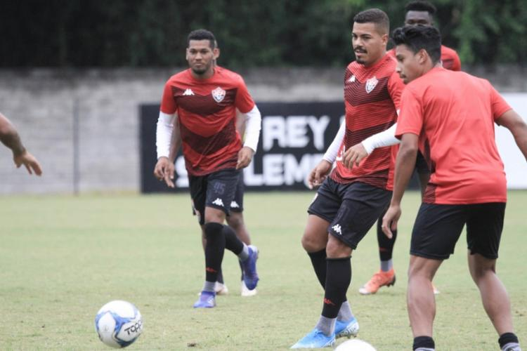 Regularizados, Carleto e Bocão viraram opção para o técnico Geninho - Foto: Letícia Martins | EC Vitória