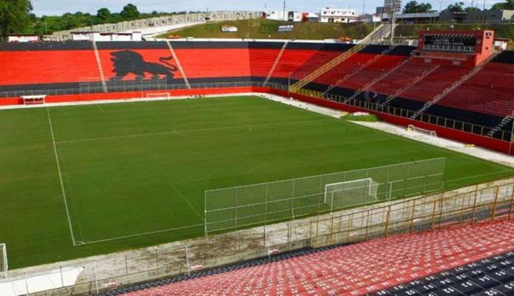 O Vitória deixou de mandar jogos no Barradão após assinar contrato de três anos com a Arena Fonte Nova - Foto: Divulgação | EC Vitória