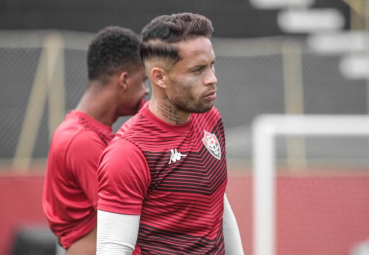 O capitão do Rubro-Negro ficou de fora da última partida devido à lesão - Foto: Letícia Martins | EC Vitória