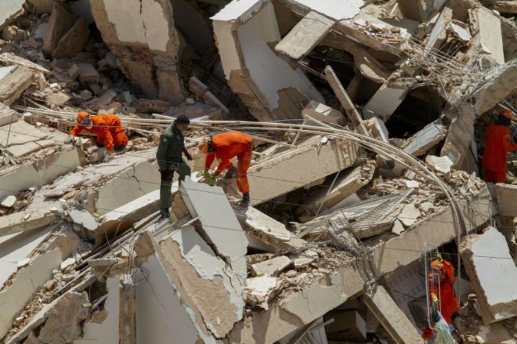 Edifício Andrea desabou na última terça-feira, 15, por volta das 10h15 - Foto: Rodrigo Patrocínio | AFP