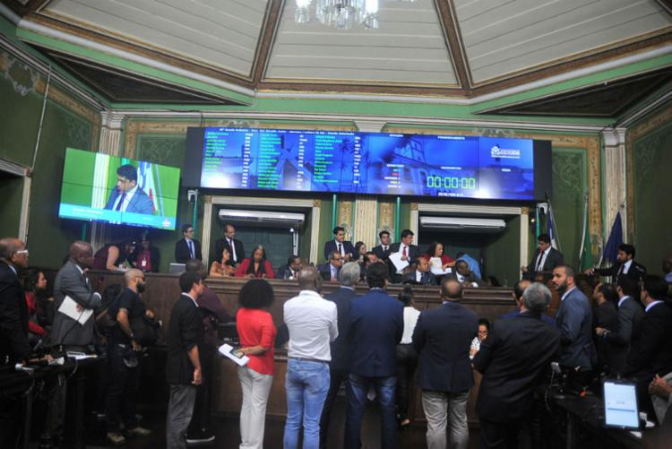 Vereadores se preparam para eleição sem coligação proporcional - Foto: Felipe Iruatã | Ag. A Tarde