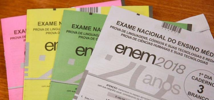 A prova será feita nos dias 3 e 10 de novembro - Foto: André Nery | MEC