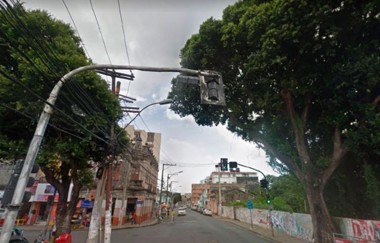 Dois homens e uma mulher também ficaram ferido - Foto: Reprodução | Google Maps