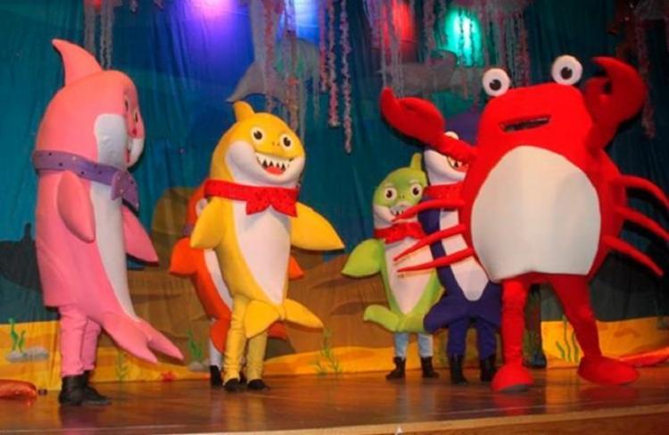Família Tubarão traz músicas populares infantis na versão Baby Shark - Foto: Divulgação