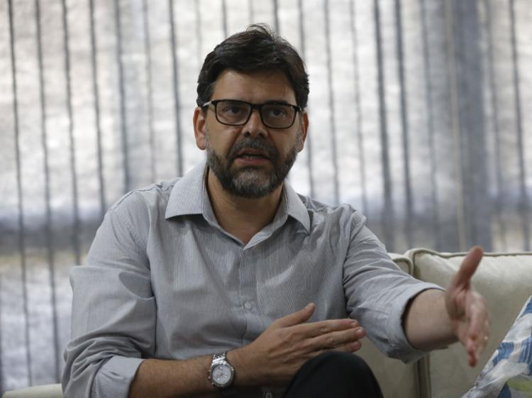 Superintendente da entidade na Bahia, Evandro Mazo, visitou sede do Grupo A TARDE - Foto: Rafael Martins | Ag. A TARDE