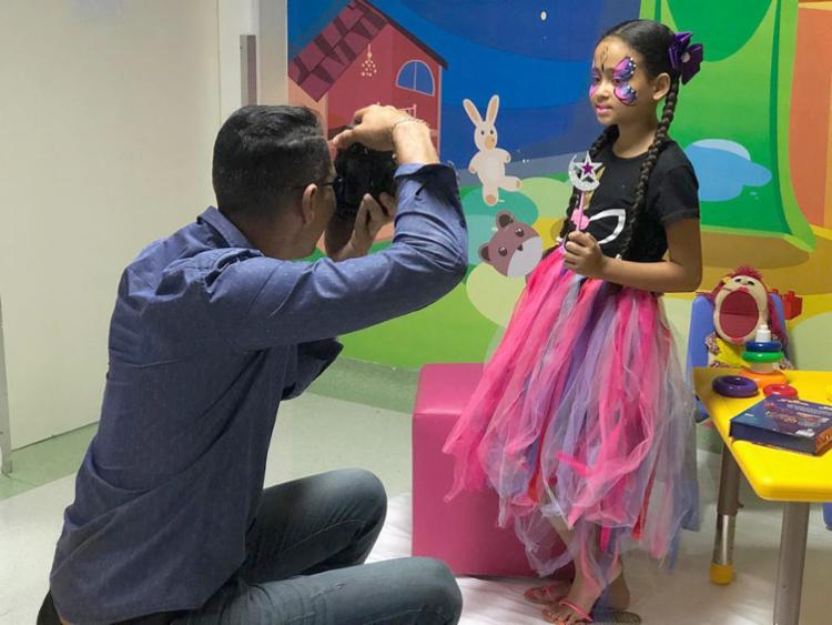 Fotos das crianças internadas no HRGS será expostas a partir desta segunda-feira - Foto: Divulgação | HGRS