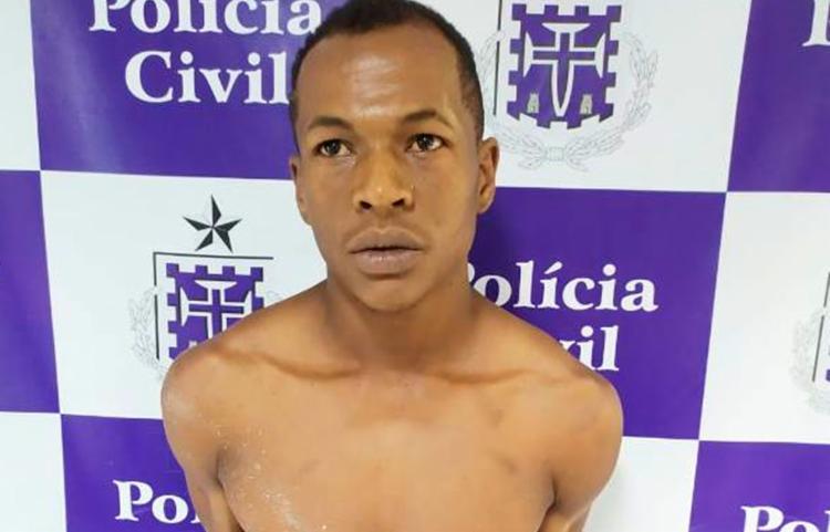 Suspeito está à disposição da Justiça - Foto: Aldo Matos | Acorda Cidade