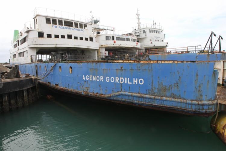 Ferry Agenor Gordilho fez a travessia Salvador-Itaparica durante 45 anos - Foto: Alberto Coutinho l Gov-BA
