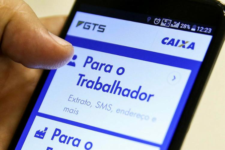 Com a antecipação, 81% das contas de FGTS serão zeradas - Foto: Marcelo Camargo | Agência Brasil