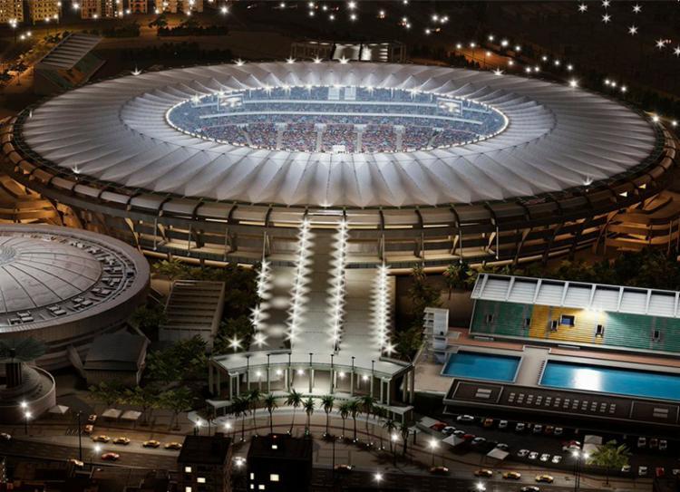 São oito estádios em disputa e o Maracanã aparece como favorito - Foto: Reprodução | Twitter