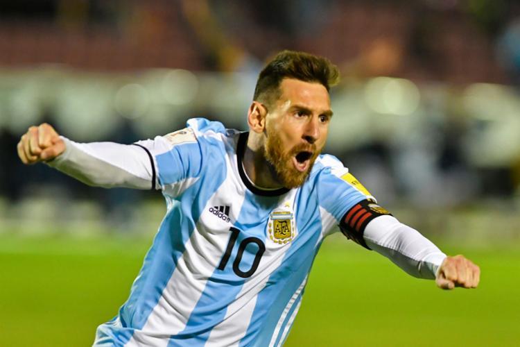 Messi foi punido após questionar a arbitragem durante a Copa América   Foto: Juan Ruiz   AFP - Foto: Juan Ruiz   AFP