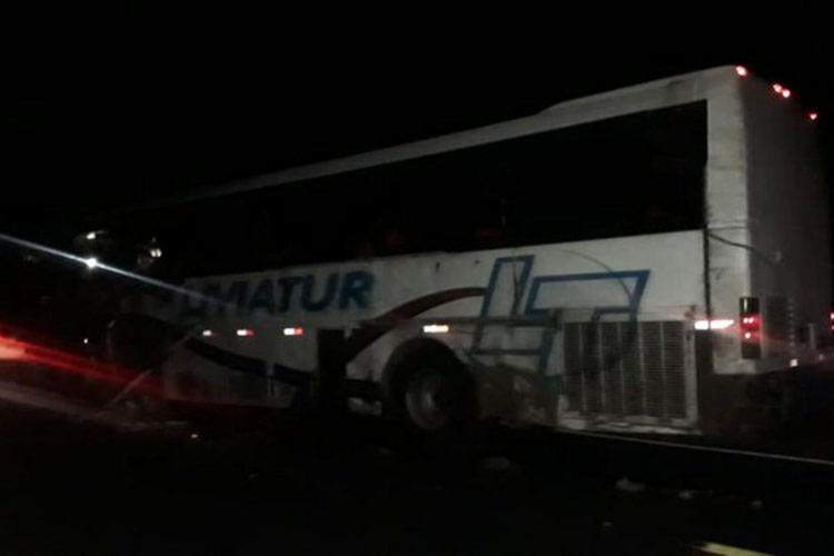Mortos estavam no ônibus universitário - Foto: Reprodução | Blog do Anderson