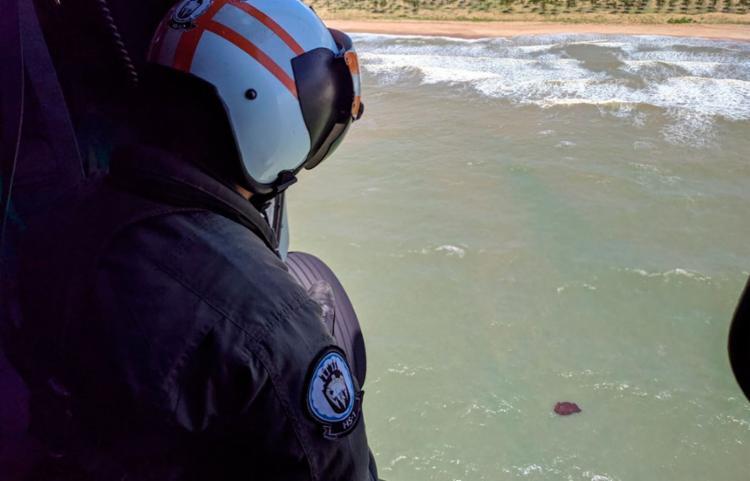 2º Distrito Naval mantém as buscas pelas manchas e monitoramento da área - Foto: Divulgação | Marinha do Brasil