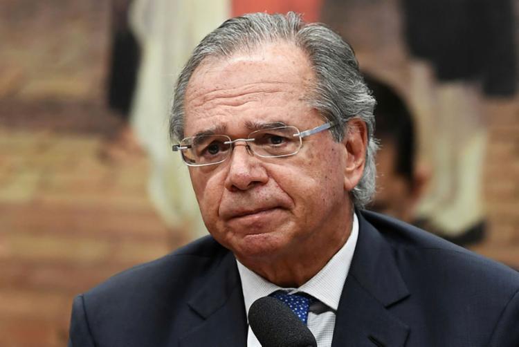 Guedes evitou responder se algum desses projetos é considerado prioridade em relação a outro - Foto: Evaristo Sá | AFP