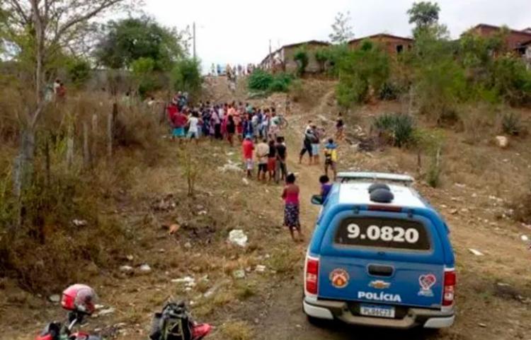 Corpo foi encontrado em terreno baldio, na cidade de Itambé - Foto: Reprodução | Verdinho Notícias