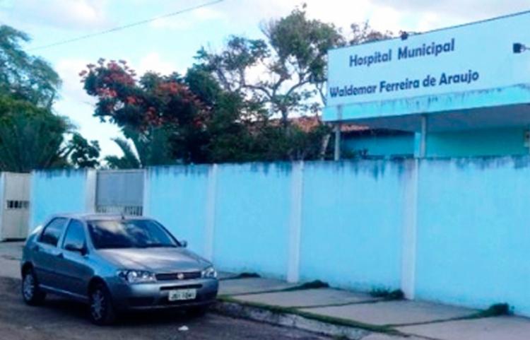 Vítima foi socorrida para o Hospital Municipal, mas não resistiu aos ferimentos - Foto: Reprodução   Calila Notícias
