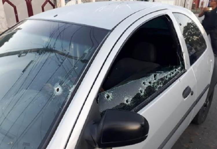 O crime aconteceu na rua Elpídio Nova, no bairro São João - Foto: Reprodução   Acorda Cidade