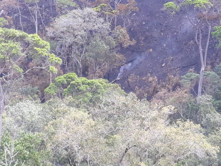 Bombeiros seguem monitorando a região para evitar novos focos de incêndio - Foto: Divulgação/GovBA