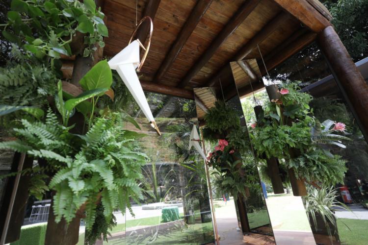 Com cerca de 6 m², Instagramável é o menor ambiente da Casa - Foto: Raul Spinassé | Ag. A TARDE