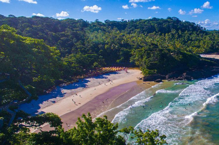 Itacaré é um dos destinos mais famosos do litoral baiano - Foto: Elton Andrade | Divulgação