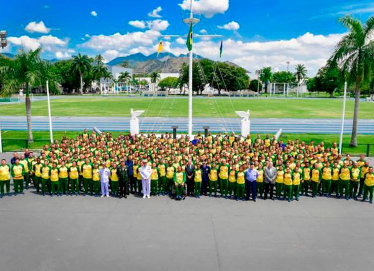 Delegação brasileira é formada por 349 atletas de Exército, Marinha e Aeronáutica - Foto: Divulgação | Alexandre Manfrim