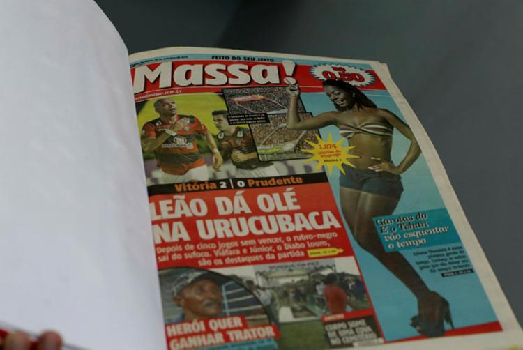 Primeira edição do Jornal Massa! foi publicada em 18 de outubro de 2010 - Foto: Adilton Venegeroles | Ag A TARDE