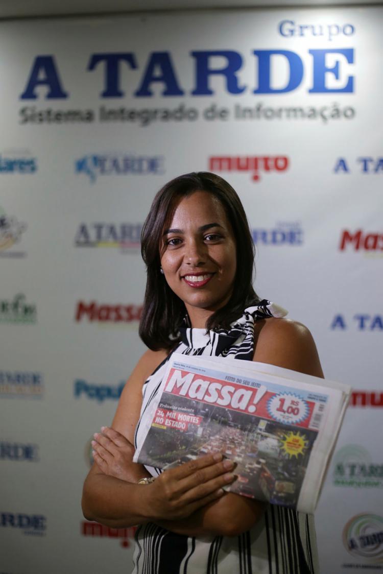 Kenna Martins coordena a equipe do Massa! há pouco mais de um ano | Foto: Raphael Muller | Ag A TARDE