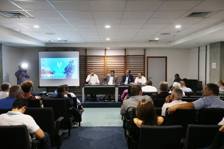 Nesta sexta-feira, 18, foram divulgadas as informações sobre as provas e operação dos jogos - Foto: Paula Fróes | Gov-BA