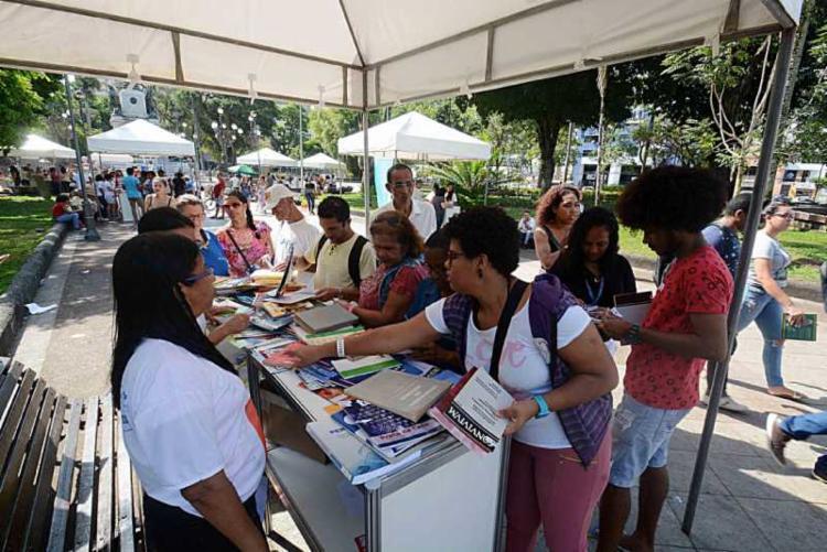 Público vai ter acesso a diversas obras literárias nacionais e internacionais - Foto: Jefferson Peixoto   Secom