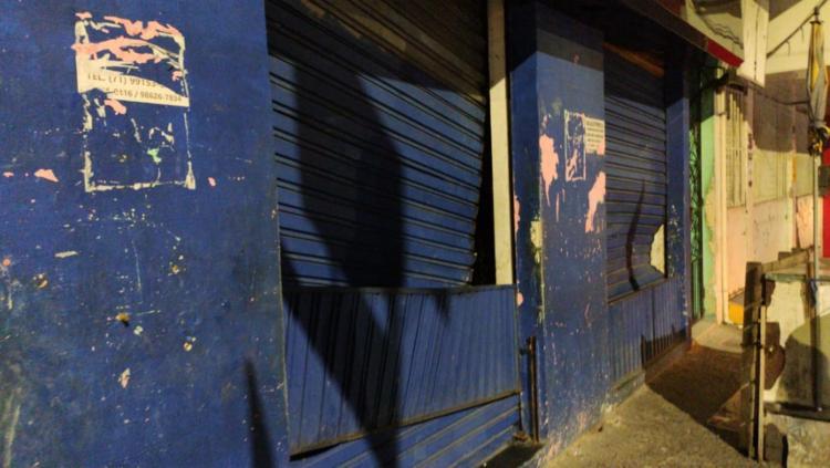 Lojas ficaram destruídas após ação criminosa - Foto: Arquivo Pessoal