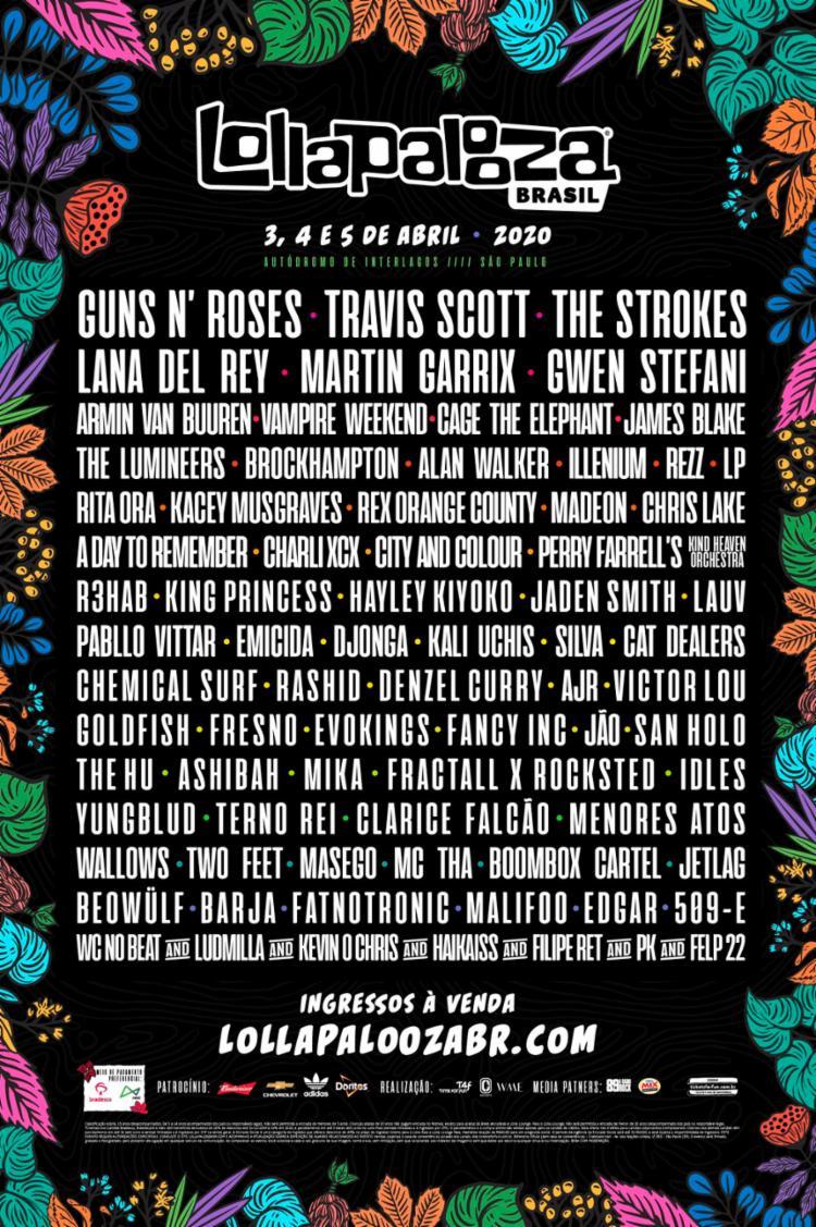 Line-up do festival foi divulgada nesta quinta-feira, 10