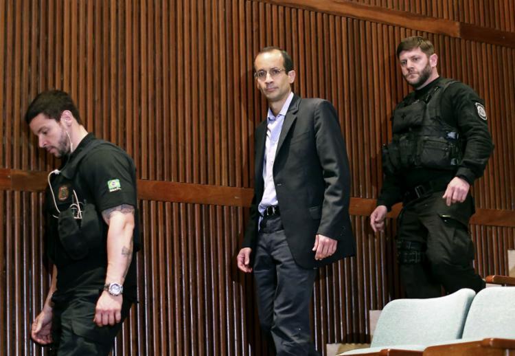 Em depoimento, o empresário disse que manteve o teor de suas delações e apontou contradições nos depoimentos do pai, Emílio Odebrecht - Foto: Heuler Andrey | AFP