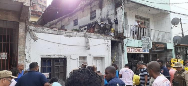 O acidente ocorreu durante o desfile de primavera da Escola São Lázaro - Foto: Reprodução