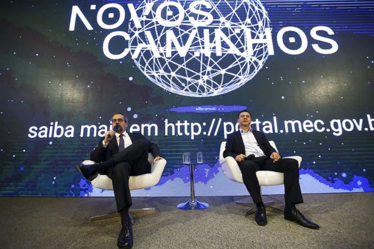 Outra ação anunciada é a atualização do catálogo de cursos técnicos - Foto: Marcelo Camargo l Agência Brasil