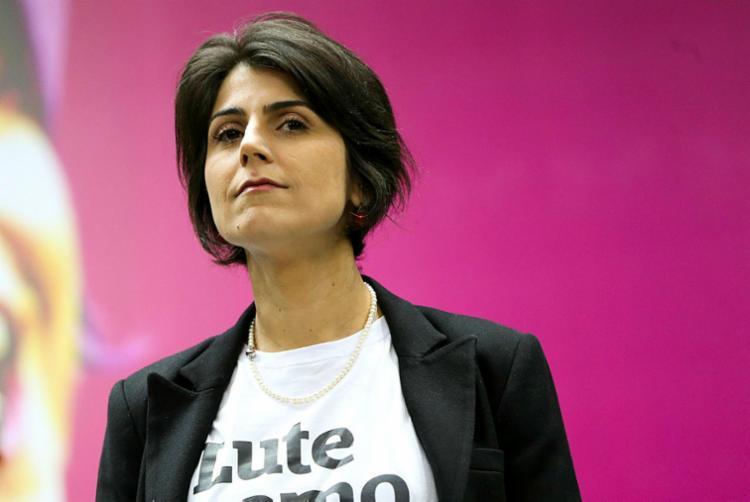 Manuela afirma que não conhecia a identidade do hacker - Foto: Marcelo Camargo | Agência Brasil