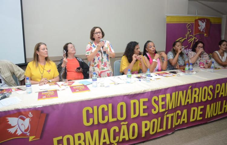 A deputada federal afirmou que a prioridade é ter uma candidatura com chances reais de vitória para a prefeitura - Foto: Divulgação